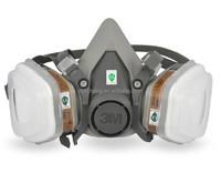 3M 6200 half gas mask Reusable Respirator , respirator smoke mask