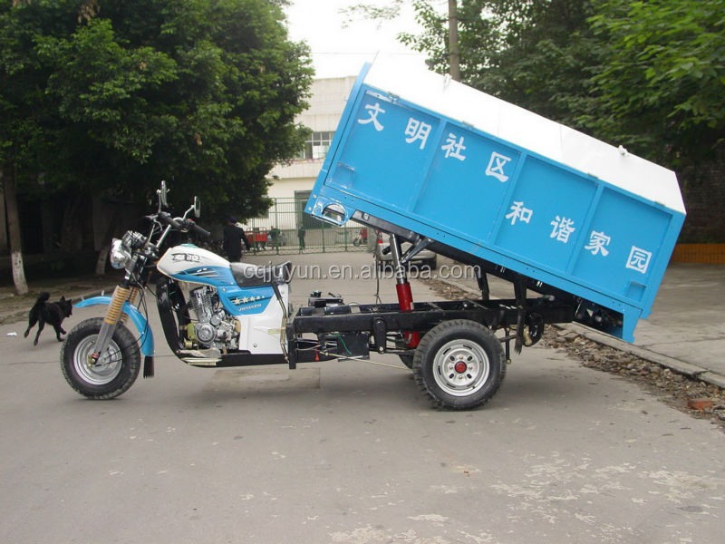 200cc Sanitation Tricycle for Garbage/garbage tricycle made in China HL200ZH-G01
