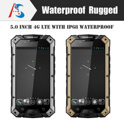 ip68 5 inch quad Core mini sim card Android mobilePhone Rugged smart phone