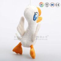 Custom Animal stuffed toy dancing duck/soft plush white dancing duck toy