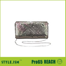 2015 new arrival party handbag beaded evening bags sequin handbags ,chainmail ladies clutch purse