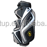 Large 9.5 inch stand golf bag top with a fourteen way divider for the ultimate organisation of your golf clubs.