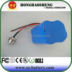 high capacity 7.4v 6000mah li-ion mobile phones batteries pack