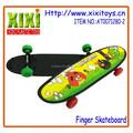2015 Mini plástico crianças brinquedos dedo skate