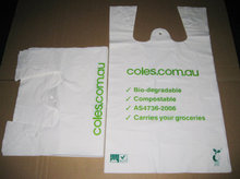 China eco-friendly Printed foldable handle grocery plastic bag manufacturer ,carry plastic shopping bag design