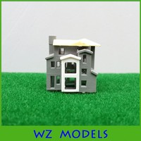 miniature family house ABS plastic material model house for building layout
