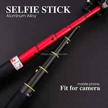 Extendable monopod hand held travel selfie stick for digital camera and mobiles