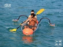 PC clear plastic kayak
