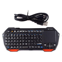 DIHAO Mini Portable Wireless 10m Remote Bluetooth Keyboard with Multi-Touch Pad Mouse Mice