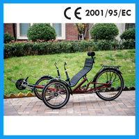 3 wheels recumbent trike sale