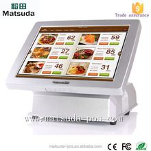 2015 New Style Pos Machine Linux /Windows All-in-one PC/Cash Register Machine 32G SSD/500HDD
