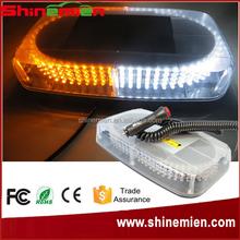 240 LED Car Roof Emergency Hazard Warning Strobe Lights Mini Bar Magnet Warning Mini Light Bar Strobe Light