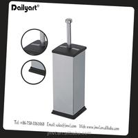 Square stainless steel Toilet Brush Holder