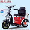 Hot Salt Electric Mobility Tricycle with sunny roof