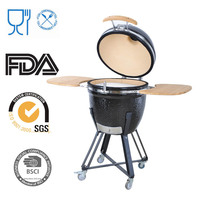 Outdoor Kitchen Accessories Black Stone Smokelss Cooking Pot
