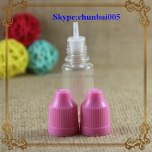 Mass inventory,24-48hours ship out!!! eliquid 10ml pet soft plastic 10ml bottle with childproof dropper&long thin tip