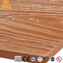 Durable Imitation Wood Texture Exterior Calcium Silicate Board Cladding
