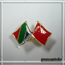 Wholesale Custom Country Flags Shape Enamel Pin For UAE National Day Souvenir