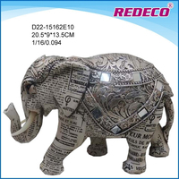 Decorative resin elephant figurine for sale