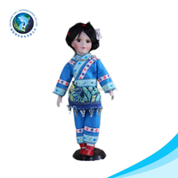 New collectible porcelain doll