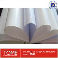 Outdoor Advertising Poster Material Waterproof Durable Printing Pvc Flex Banner Glue