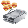 Coating queso cupcakes jam etc snack home foods Hamburger making machine