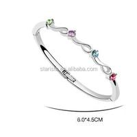 Celebrity Austrian Crystal New Models Bracelets For Women Words of Spring