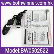 Wholesale Survival Emergency Kit With Flint Whistle Saw Mirror BW089