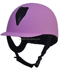 Fashional colourful horse riding helmet VB-608 have passed EN1384