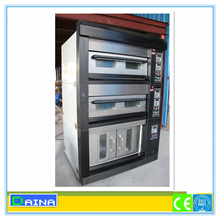 International quality portable gas oven/ Electric or gas bread deck oven/ pizza oven