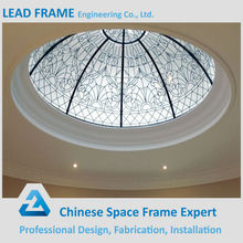 Outdoor Clear Glass System Designs Dome Glass Skylight