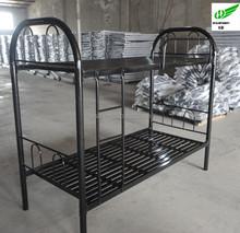 Steel double loft bed, college loft bed, steel hostel bed