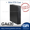 GA620iBK ITX Form Factor ITX CASE mini car pc chassis
