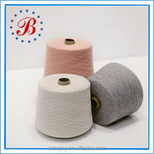Ne 24/1 Combed Cotton/Viscose 65%/35% Blended Yarn For Knitting And Weaving