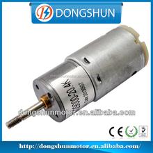 Professional 12v DC 25mm DS-25RS385 24v gear motor