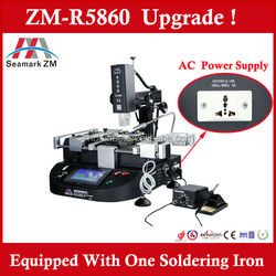 Zhuomao best soldering and welding machine ZM-R5860 repair laptop, psp, xbox360, mobile motherboard bga chip