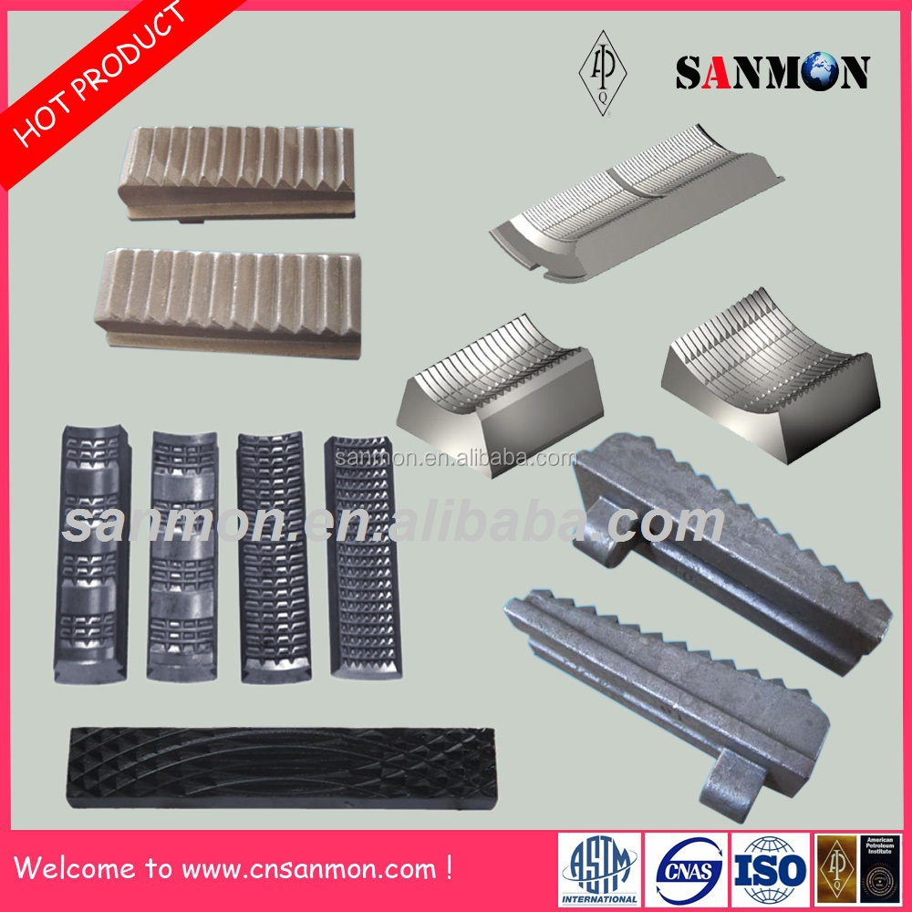Tong Dies: Drill Tool Manual Tong Dies And Slip Inserts For Oil Field