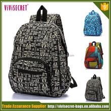 Cheap student back pack fashion backpacks school bags for teenagers