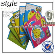 Escritura cuadernos para los niños