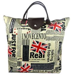 UK LONDOM Souvenirs N/P Folding Shopping bag