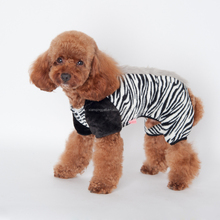 New Design Leopard Dog fleece Sweater Winter Clothes with 4 Legs for Big Pet Large Dog Clothes With a Hoodie