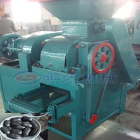 High efficiency four rollers double charocoal and coal briquette pressing machine