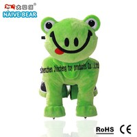 Frog toy cars for kids to drive
