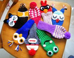 custom hand knitted crochet golf club head covers