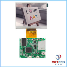 customized Portable high brightness display 3.5 inch lcd monitor touch screen