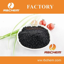 high content organic nitrogen fertilizer black urea shiny granules
