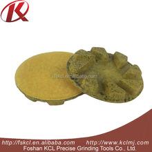 "4"" Extra Sharp Concrete Polishing Floor Velcro Resin Pads"