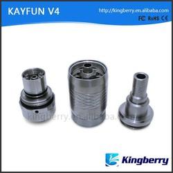 Newest Version Kayfun series electronic cigarette Atomizer Rebuildable Kayfun V4 Atomizer