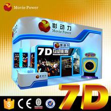 3D Plastic Edition Cabin 9d 2 seater simulator