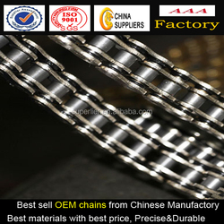 45# steel motorcycle O-RING roller chain, racing motorcycle key chain, excellent motorcycle chain sprocket for Yamaha